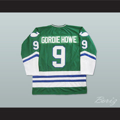 Gordie Howe Hartford Whalers Hockey Jersey Stitch Any Size Any Number Any Name New - borizcustom - 2