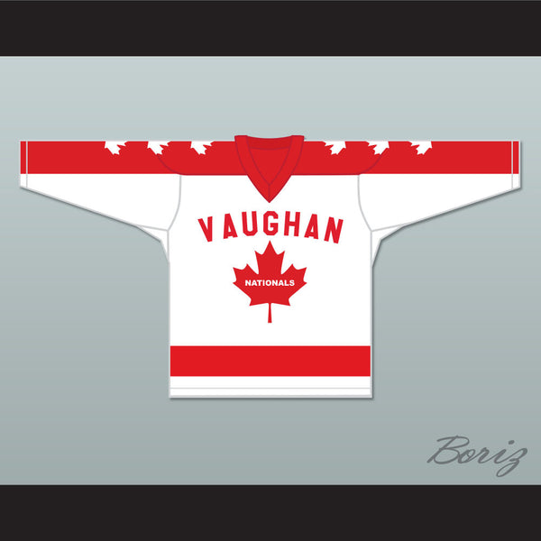 Wayne Gretzky 99 Vaughan Nationals Hockey Jersey Metro Junior B Hockey League Stitch Sewn - borizcustom - 1
