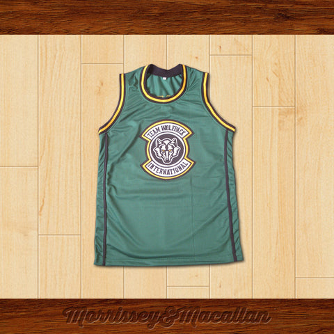 Alan Garner Team Wolfpack International Basketball Jersey by Morrissey&Macallan - borizcustom