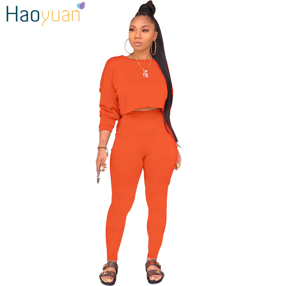 Plus Size Women 2 Piece Outfits Jogging Suit Long Sleeve Leopard Printed Bodycon Crop Top And Long Pants Clothing Shoes Jewelry Belasidevelopers Co Ke