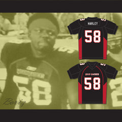 58 Harley Mean Machine Convicts Football Jersey - borizcustom