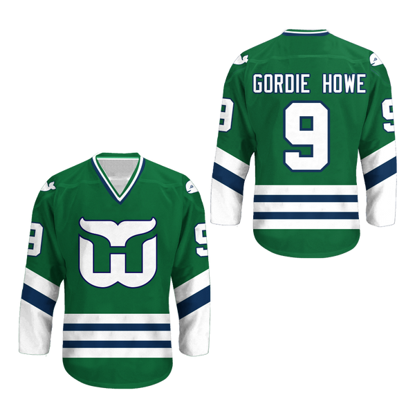 more photos d9900 0f5ae Gordie Howe Hartford Whalers Hockey Jersey Stitch Any Size Any Number Any  Name New Colors