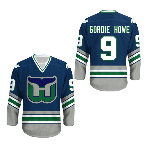 ... Gordie Howe Hartford Whalers Hockey Jersey Stitch Any Size Any Number  Any Name New Colors ... c0ed86c0821