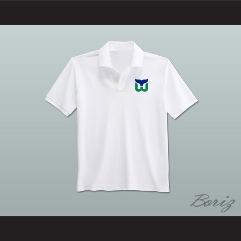 Hartford Whalers Coaching Staff Embroidered Logo Polo Shirt - borizcustom