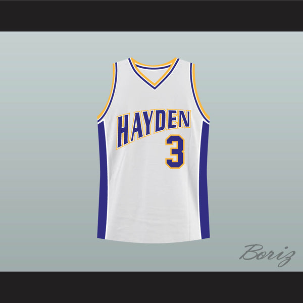 Zac Efron Mark Gold Hayden Warriors High School Basketball Jersey - borizcustom