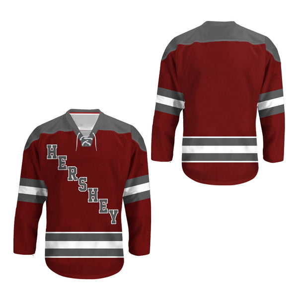 Hershey Stitch Hockey Jersey any name any number