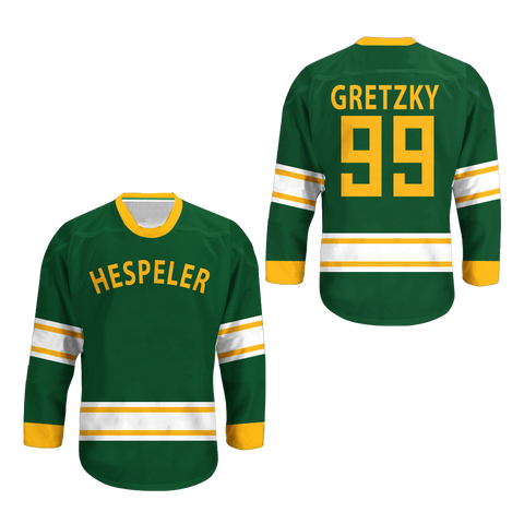 1971-72 Wayne Gretzky 9 Hespeler Minor Olympics Hockey Jersey Stitch