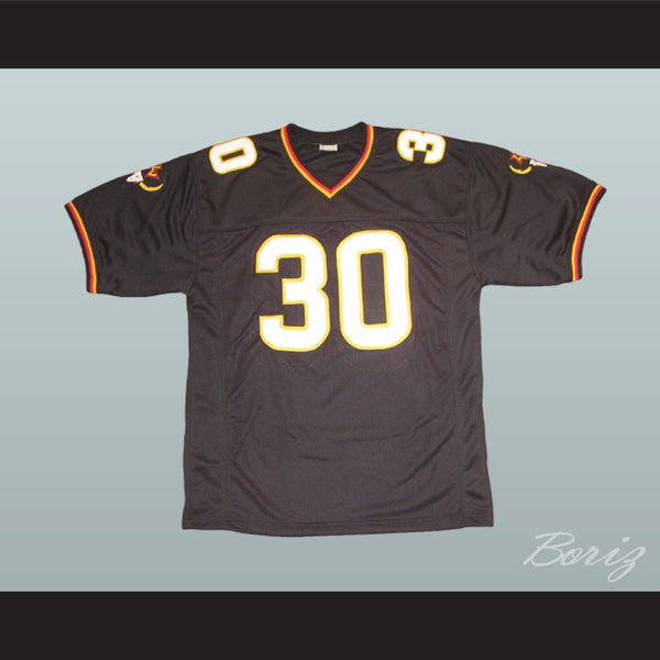 Rod Smart He Hate Me Football Jersey All Sewn LV Outlaw - borizcustom