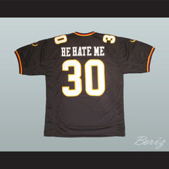 Rod Smart He Hate Me Football Jersey All Sewn LV Outlaw - borizcustom - 2