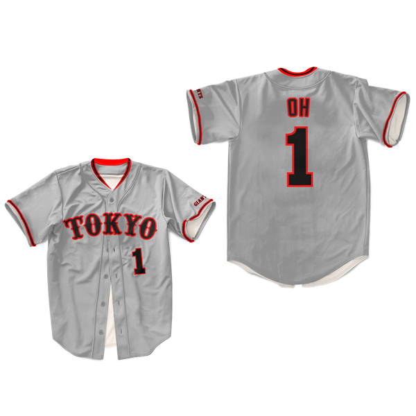 Sadaharu Oh Japan Baseball Jersey Sewn Any Size New Colors
