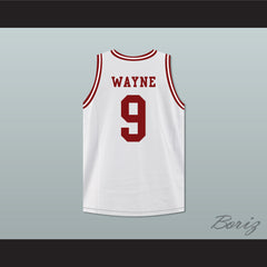 Dwayne Wayne 9 Hillman College Theater White Basketball Jersey A Different World - borizcustom - 2