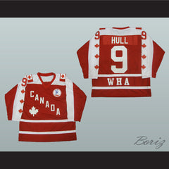 Bobby Hull Hockey Jersey Stitch Sewn Any Size Winnipeg Canada - borizcustom