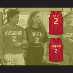 Saved By The Bell AC Slater Husband 2 Basketball Jersey Family Roleplay - borizcustom - 3