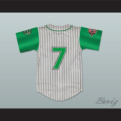 Andre 7 Kekambas Baseball Jersey with ARCHA and Duffy's Patches - borizcustom - 2