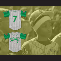Andre 7 Kekambas Baseball Jersey with ARCHA and Duffy's Patches - borizcustom - 3