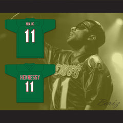 Prodigy H.N.I.C. 11 Hennessy Green Football Jersey