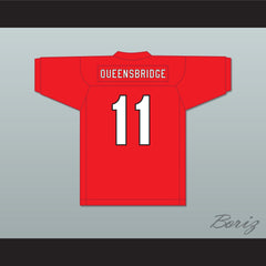 Queensbridge 11 Hennessy Red Football Jersey