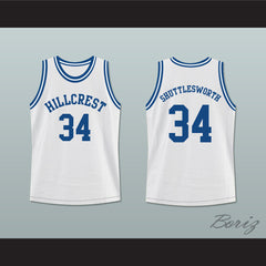 Ray Allen Shuttlesworth 34 Hillcrest High School Basketball Jersey - borizcustom - 3