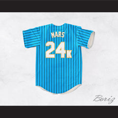 Hooligans 24K Light Blue Baseball Jersey