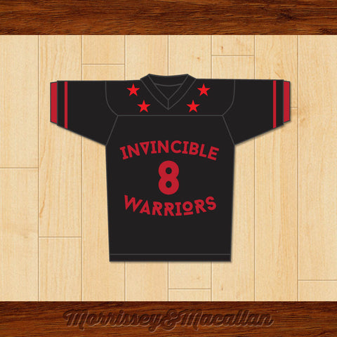 Invincible Warriors 8 Football Jersey by Morrissey&Macallan - borizcustom