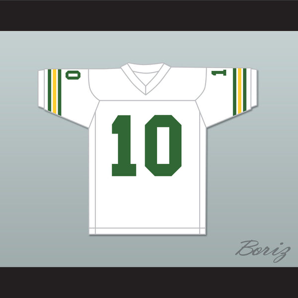 Allen Iverson 10 Bethel High School Bruins White Football Jersey - borizcustom
