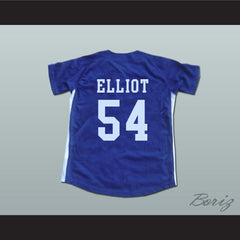 Chunichi Dragons Jack Elliot Mr. Baseball Movie Jersey NEW Stitch Sewn - borizcustom