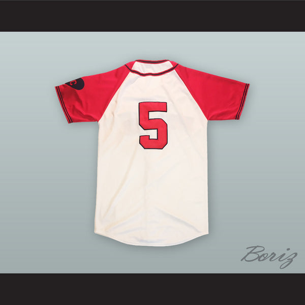 newest 8e94d ab305 Jackie Robinson 5 Kansas City Monarchs Baseball Jersey