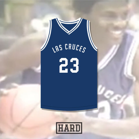 Jaleel Thomas 23 Las Cruces Roadrunners Basketball Jersey by Hard