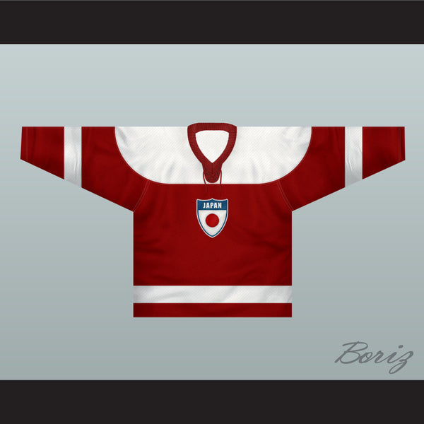 Japan National Team Hockey Jersey New - borizcustom