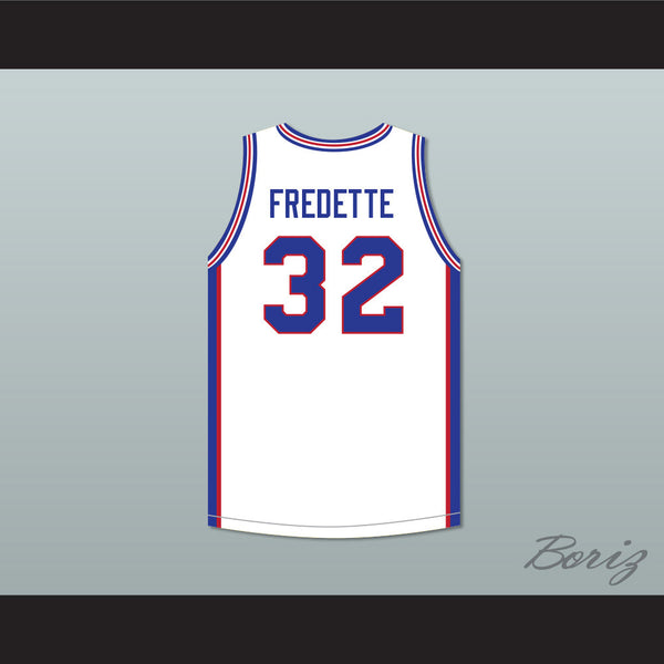6e41e17890dc ... Jimmer Fredette 32 Shanghai Sharks White Basketball Jersey with CBA  Patch ...