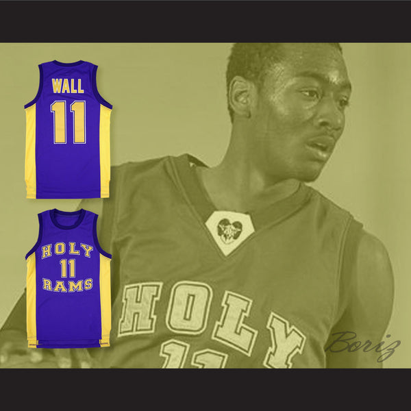 online store 14473 8011f John Wall 11 Word of God Christian Academy Holy Rams Basketball Jersey