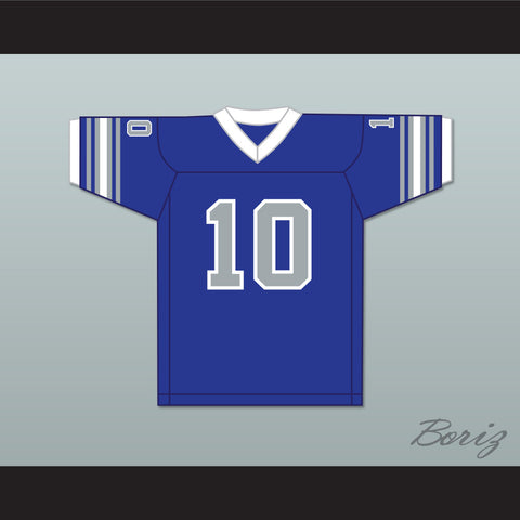 1975 WFL Johnnie Walton 10 San Antonio Wings Road Football Jersey