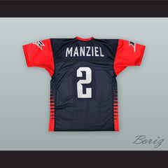 Johnny Manziel 2 Memphis Express Football Jersey with Patches