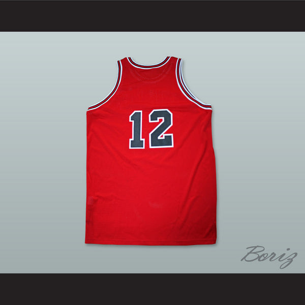 pretty nice a0d8e 00ad2 Michael Jordan 12 Valentine's Day Incident Basketball Jersey
