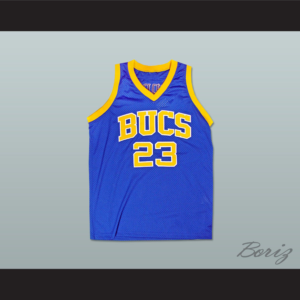 promo code a3812 e317e Michael Jordan 23 Laney High School Buccaneers Basketball Jersey