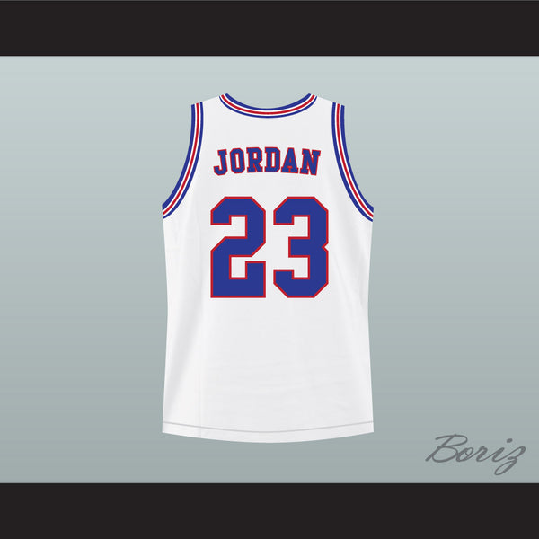 05f88cecd48b ... michael jordan space jam tune squad basketball jersey any size made to  order ...
