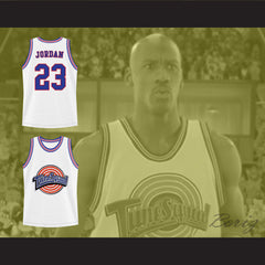 Michael Jordan Space Jam Tune Squad Basketball Jersey Any Size Made to Order ALL Sewn - borizcustom