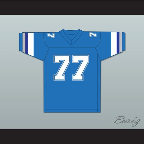 1983 USFL Junior Ah You 77 Boston Breakers Road Football Jersey