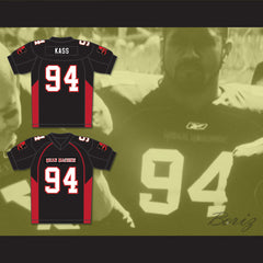 94 Kass Mean Machine Convicts Football Jersey Includes Patches - borizcustom