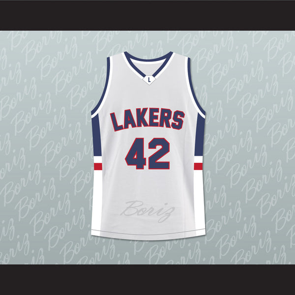 the latest 4c4b4 77de5 Kevin Love Lake Oswego Lakers High School Basketball Jersey Stitch Sewn