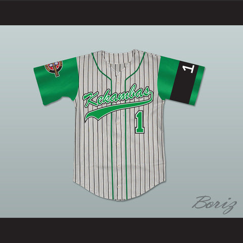 Jarius 'G-Baby' Evans 1 Kekambas Baseball Jersey Includes ARCHA Patch and G-Baby Memorial Sleeve - borizcustom