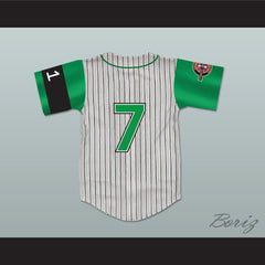 Andre 7 Kekambas Baseball Jersey Includes ARCHA Patch and G-Baby Memorial Sleeve - borizcustom
