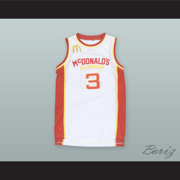 2a28f07f3 ... usa kevin durant 3 mcdonalds all american white basketball jersey 181cf  06c84