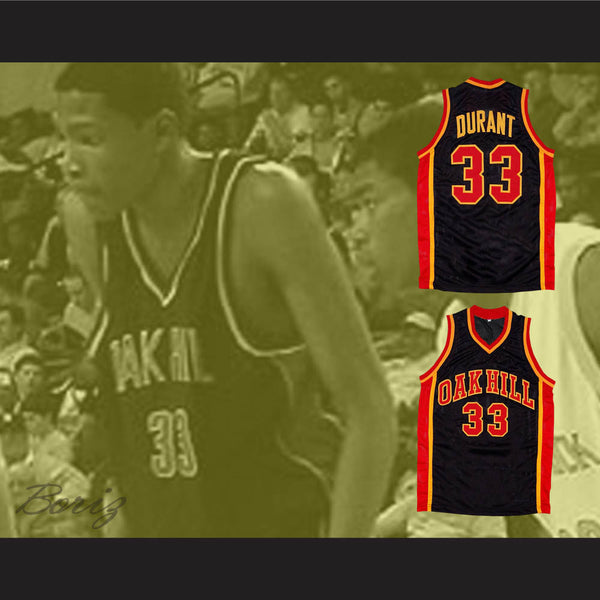 62eaa6fec ... Kevin Durant Oak Hill Academy Basketball Jersey Any Player or Number -  borizcustom