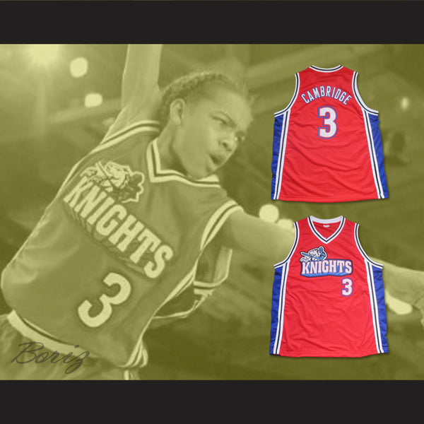 858d216a5eff Lil Bow Wow Calvin Cambridge 3 Los Angeles Knights Red Basketball Jersey  Like . ...