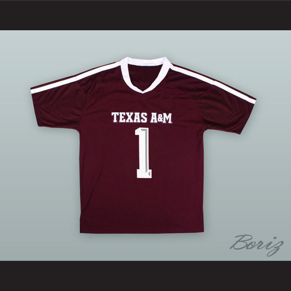 new arrival 75ec5 0abf3 Kyler Murray 1 Texas A&M Aggies Maroon Football Jersey