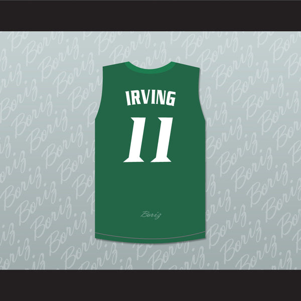 super popular 0bea1 8d377 Kyrie Irving 11 St. Patrick High School Basketball Jersey Stitch Sewn