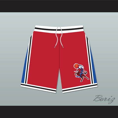 Like Mike Calvin Cambridge Los Angeles Knights Basketball Shorts - borizcustom