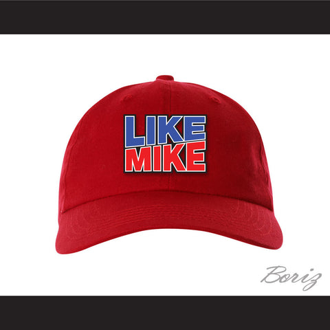 Like Mike Red Baseball Hat - borizcustom
