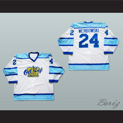 Lane Werbowski Edmonton Oil Kings Hockey Jersey New Stitch Sewn - borizcustom